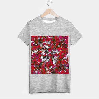 Snow and red T-shirt regular thumbnail image