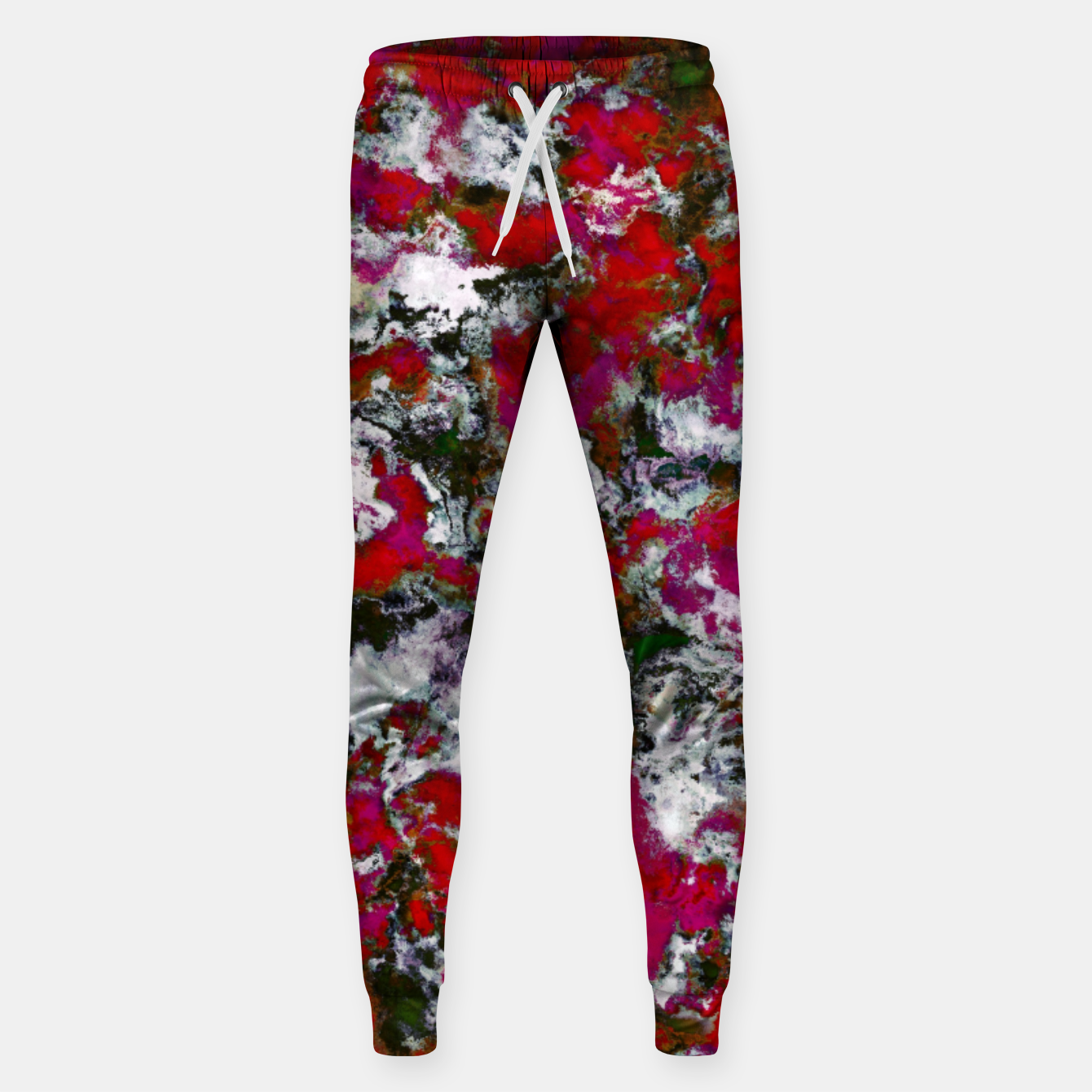 Image of Snow and red Sweatpants - Live Heroes
