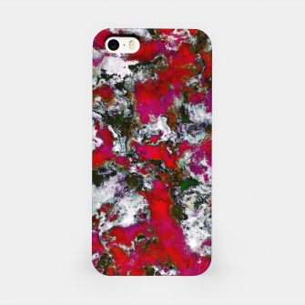 Snow and red iPhone Case thumbnail image