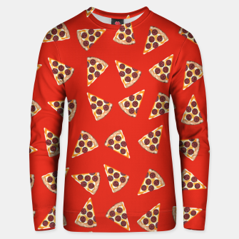 Thumbnail image of Pizza Slice Red Unisex sweater, Live Heroes