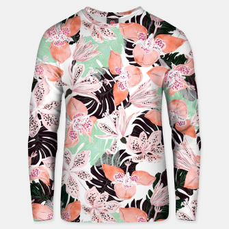 Thumbnail image of Tropical garden floral 20 Sudadera unisex, Live Heroes