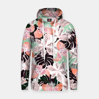 Thumbnail image of Tropical garden floral 20 Sudadera con capucha, Live Heroes