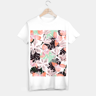 Thumbnail image of Tropical garden floral 20 Camiseta Regular, Live Heroes