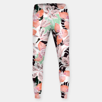 Thumbnail image of Tropical garden floral 20 Pantalones de chándal , Live Heroes