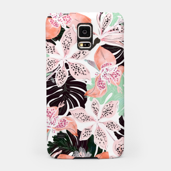 Thumbnail image of Tropical garden floral 20 Carcasa por Samsung, Live Heroes