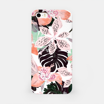 Thumbnail image of Tropical garden floral 20 Carcasa por Iphone, Live Heroes