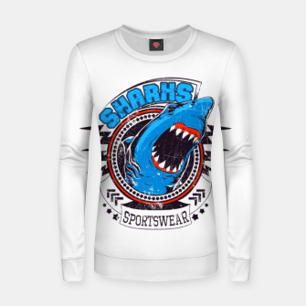 Miniatur Sharks Sports Wear  Women sweater, Live Heroes