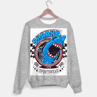 Miniatur Sharks Sports Wear  Sweater regular, Live Heroes