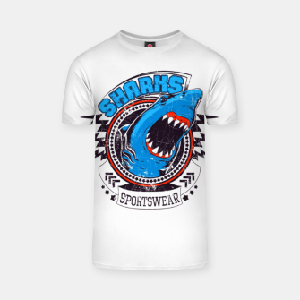 Miniatur Sharks Sports Wear  T-shirt, Live Heroes