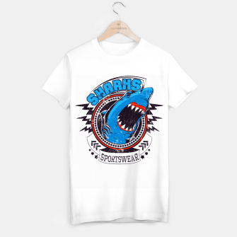 Miniatur Sharks Sports Wear  T-shirt regular, Live Heroes