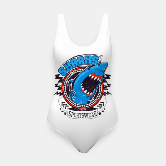Miniatur Sharks Sports Wear  Swimsuit, Live Heroes
