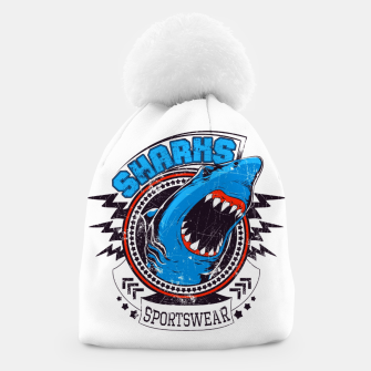 Miniatur Sharks Sports Wear  Beanie, Live Heroes