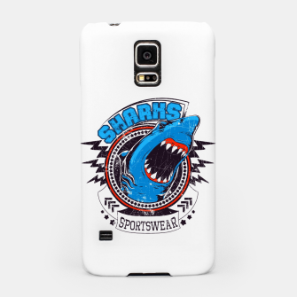 Miniatur Sharks Sports Wear  Samsung Case, Live Heroes
