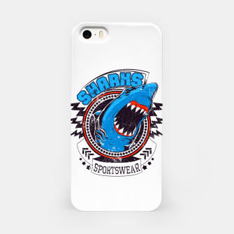 Miniatur Sharks Sports Wear  iPhone Case, Live Heroes