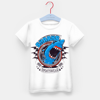 Miniatur Sharks Sports Wear  Kid's t-shirt, Live Heroes