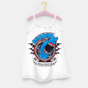 Miniatur Sharks Sports Wear  Girl's dress, Live Heroes