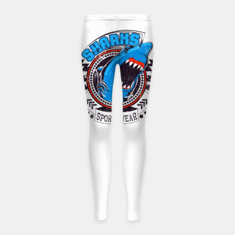 Miniaturka Sharks Sports Wear  Girl's leggings, Live Heroes