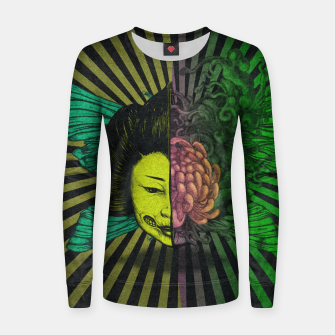 Thumbnail image of Split Women sweater, Live Heroes