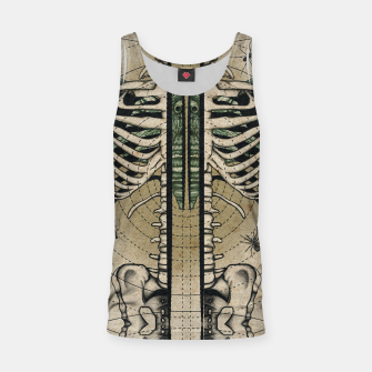 Thumbnail image of Spliced Skeleton  Tank Top, Live Heroes