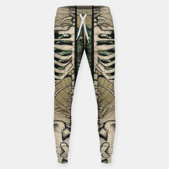 Miniaturka Spliced Skeleton  Sweatpants, Live Heroes