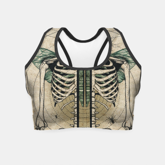 Imagen en miniatura de Spliced Skeleton  Crop Top, Live Heroes