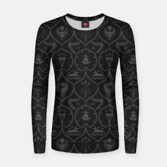 Thumbnail image of Ancient Egypt: Cat guardian of life Women sweater, Live Heroes