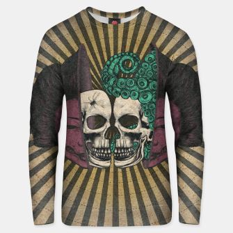Thumbnail image of Spliced Geisha Unisex sweater, Live Heroes