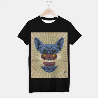 Miniature de image de Spliced Sphynx T-shirt regular, Live Heroes