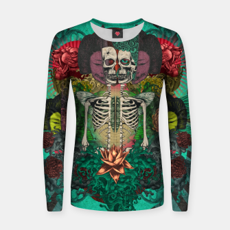 Miniatur Skeleton Shrine Women sweater, Live Heroes