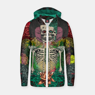 Miniaturka Skeleton Shrine Zip up hoodie, Live Heroes