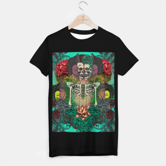 Miniature de image de Skeleton Shrine T-shirt regular, Live Heroes