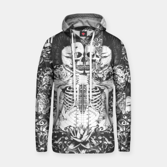 Miniatur Skeleton Shrine Dark Hoodie, Live Heroes