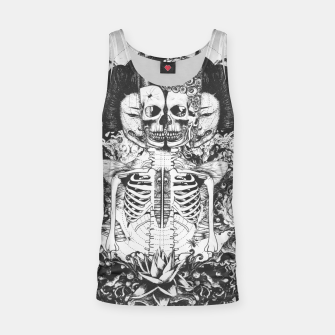 Miniatur Skeleton Shrine Dark Tank Top, Live Heroes