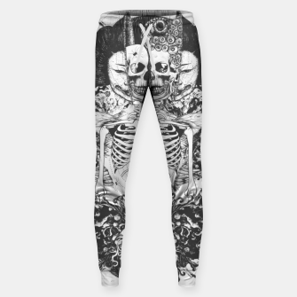 Miniaturka Skeleton Shrine Dark Sweatpants, Live Heroes