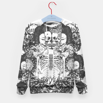 Miniatur Skeleton Shrine Dark Kid's sweater, Live Heroes
