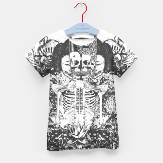 Miniatur Skeleton Shrine Dark Kid's t-shirt, Live Heroes