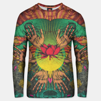 Miniature de image de Red flower Shrine Unisex sweater, Live Heroes