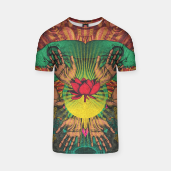 Miniature de image de Red flower Shrine T-shirt, Live Heroes