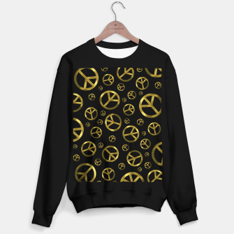 Miniature de image de Peace Sign Gold Sweater regular, Live Heroes
