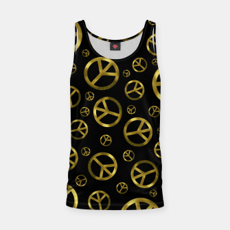 Imagen en miniatura de Peace Sign Gold Tank Top, Live Heroes