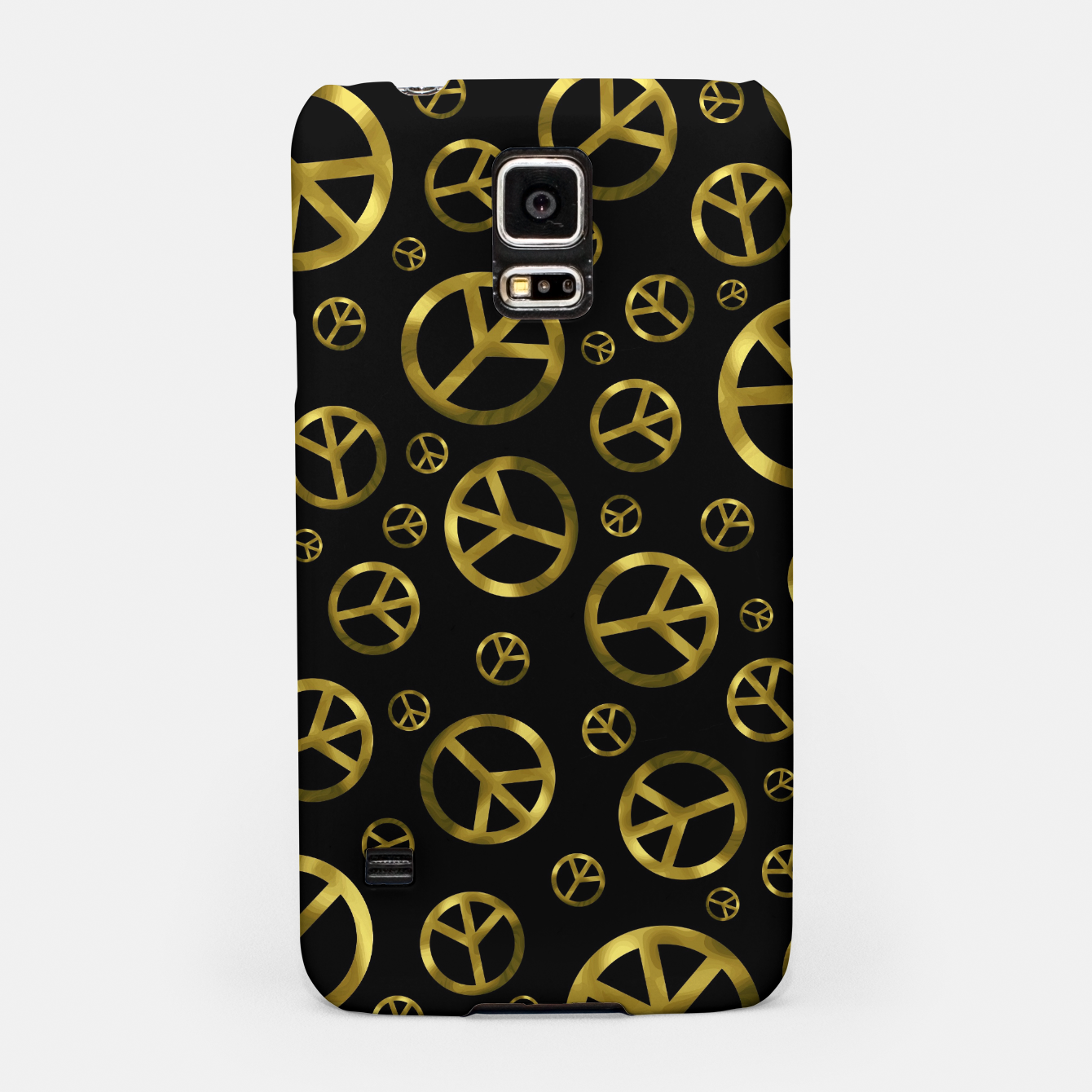 Foto Peace Sign Gold Samsung Case - Live Heroes