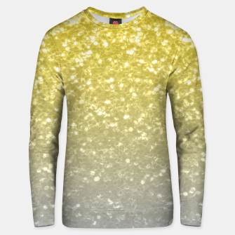 Miniatur Light ultimate grey illuminating yellow sparkles Unisex sweater, Live Heroes