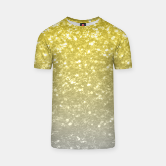 Light ultimate grey illuminating yellow sparkles T-shirt thumbnail image