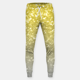 Light ultimate grey illuminating yellow sparkles Sweatpants thumbnail image