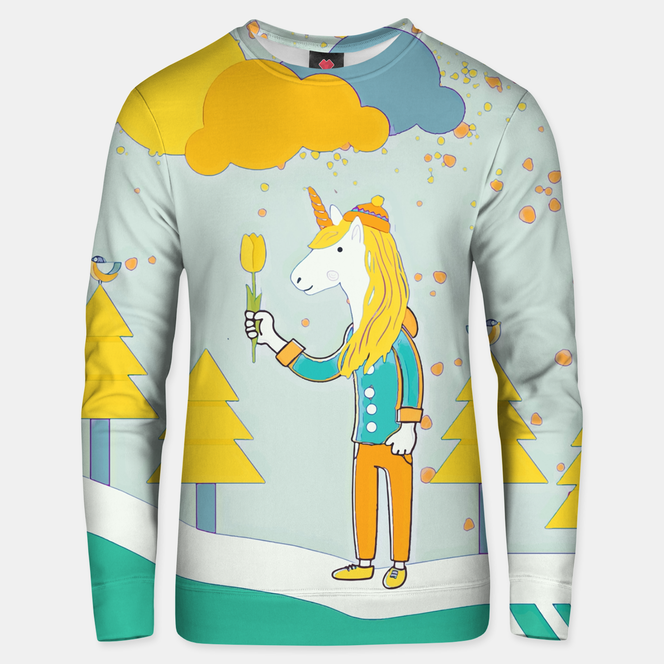 Image of Flower for you Unisex sweater - Live Heroes