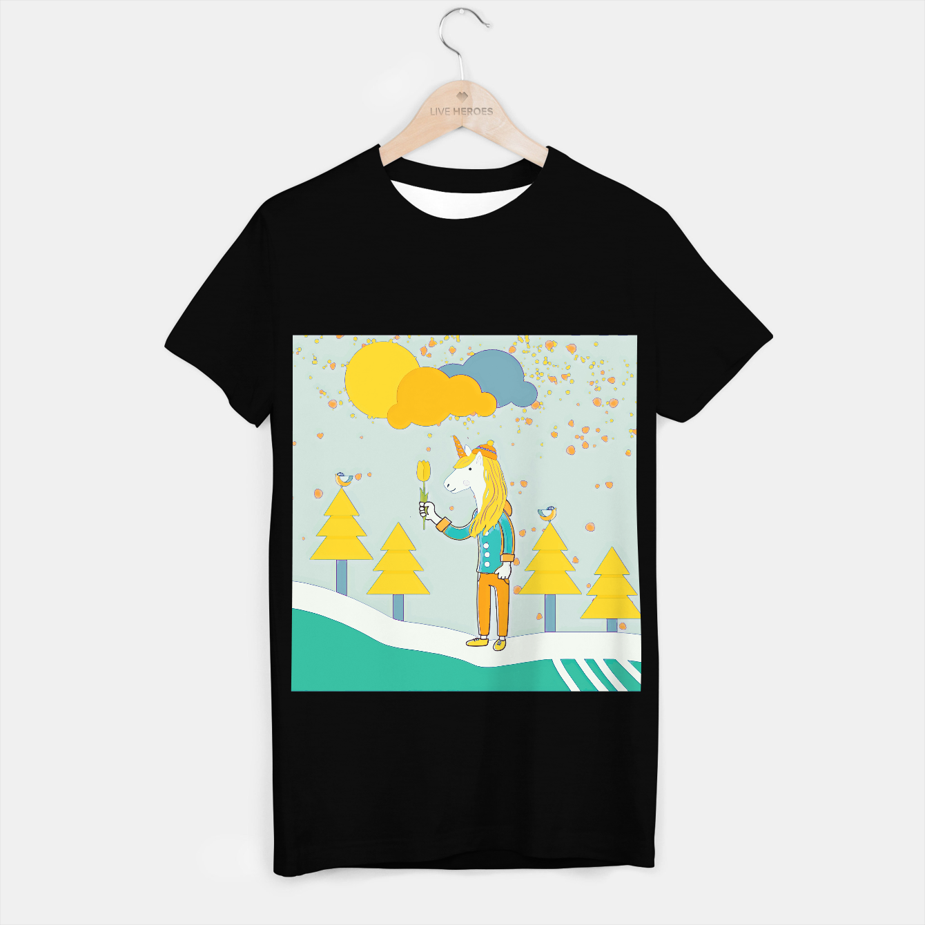 Image of Flower for you T-shirt regular - Live Heroes