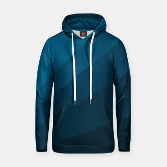 Miniatur The blue fan, geometric design in mystic blue Hoodie, Live Heroes