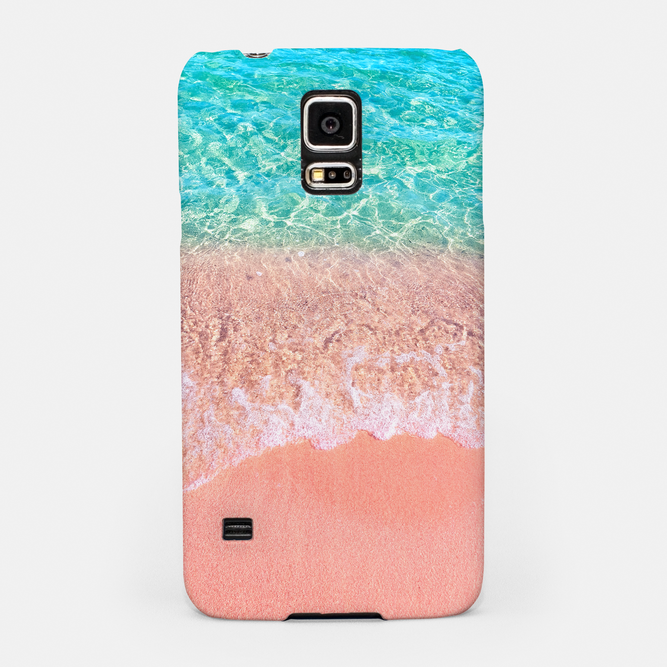 Image of Dreamy seaside photography, water and sand in magical colors Samsung Case - Live Heroes