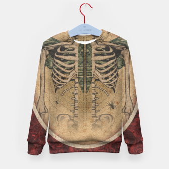 Thumbnail image of Wings Shrine  Kid's sweater, Live Heroes