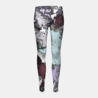 Thumbnail image of Close call Girl's leggings, Live Heroes